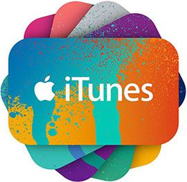 iTunes Gift Cards Delivered Instantly by Email